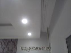 ниша в потолочном карнизе для штор